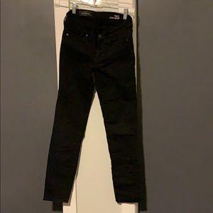Denim - J.Crew black skinnies